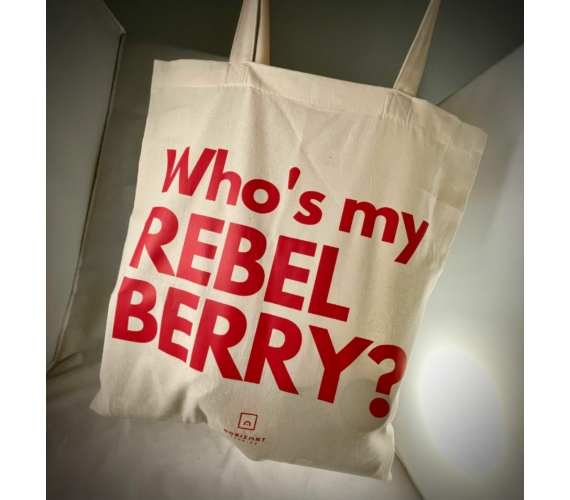 Who's my Rebel Berry tote bag