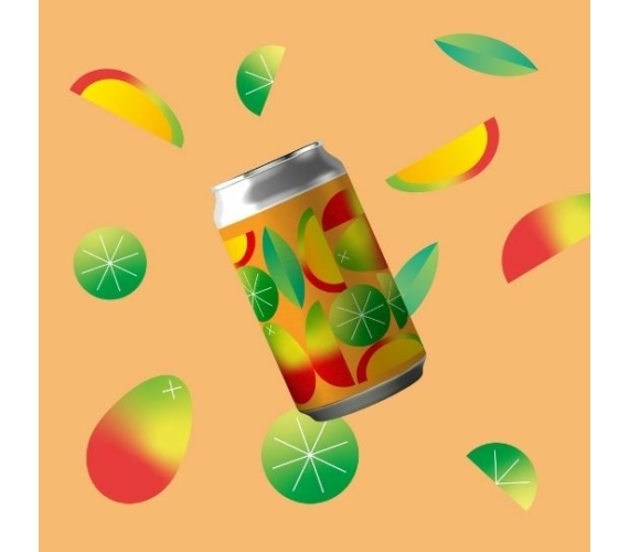 Imperial Berliner Weisse with Mango and Lime