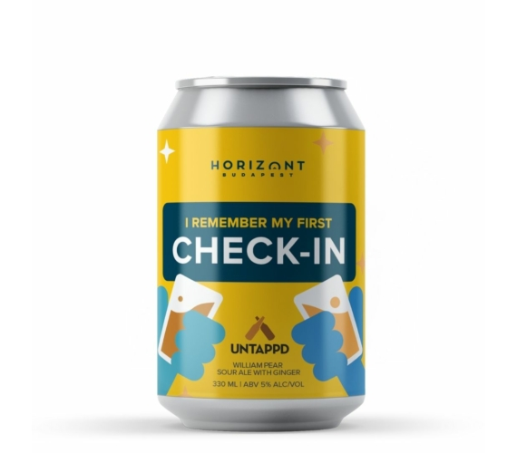 UNTAPPD x Horizont William Pear - Ginger Gose