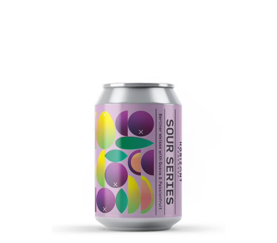 Berliner Weisse Sour with Guava and Passionfruit INT