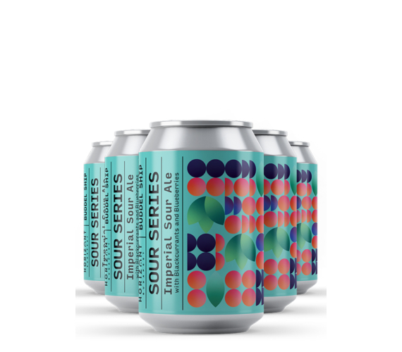 Blackcurrant-Blueberry Imperial Sour Ale  /  24pack