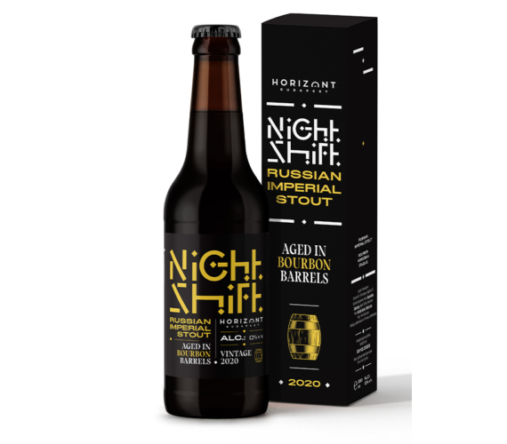 Night Shift Vintage 2020  /  Russian Imperial Stout bourbon hordóban érlelve