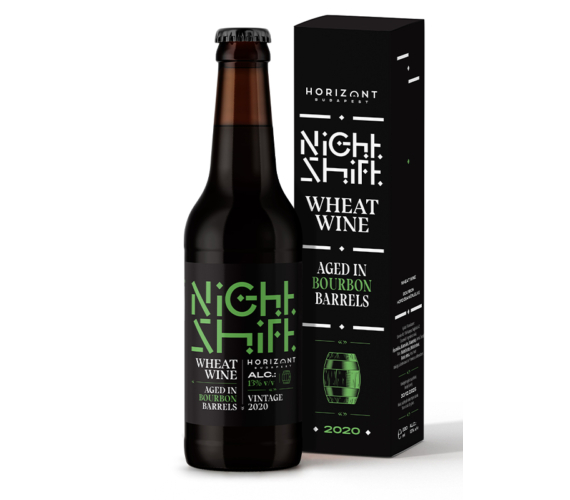 Night Shift Vintage 2020  /  Wheat Wine bourbon hordóban érlelve