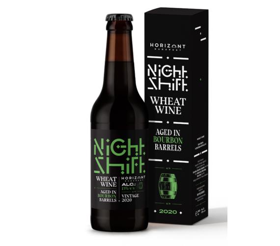 Night Shift Vintage 2020  /  Wheat Wine aged in bourbon barrels