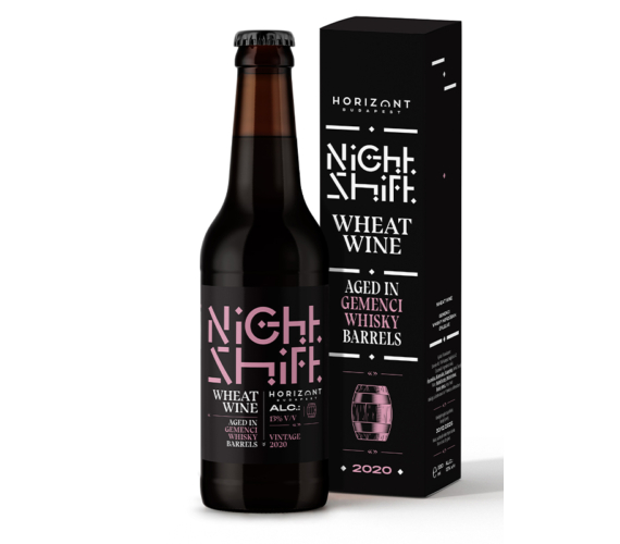 Night Shift Vintage 2020  /  Wheat Wine Gemenci whiskey hordóban érlelve