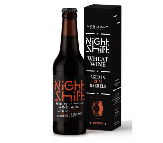 Night Shift Vintage 2020  /  Wheat Wine aged in rhum barrels