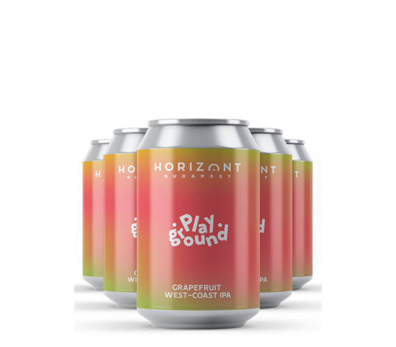 Playground - Grapefruit West-Coast IPA / 12-es csomag